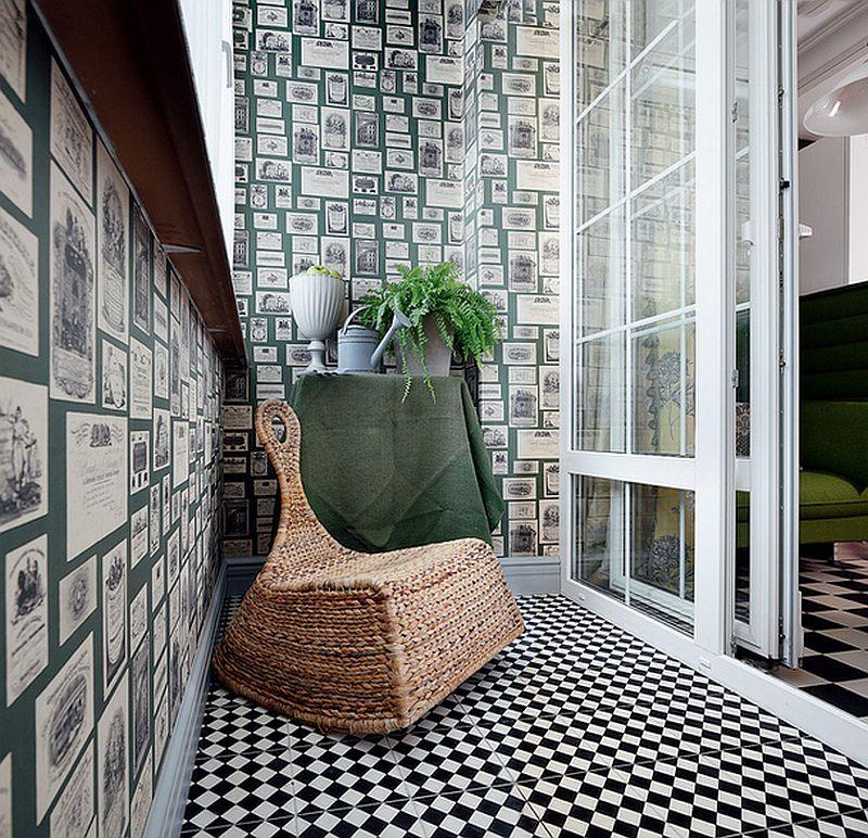 adelaparvu.com despre apartament de bloc 55 mp cu multe draperii, locuinta Moscova, Foto AD (4)