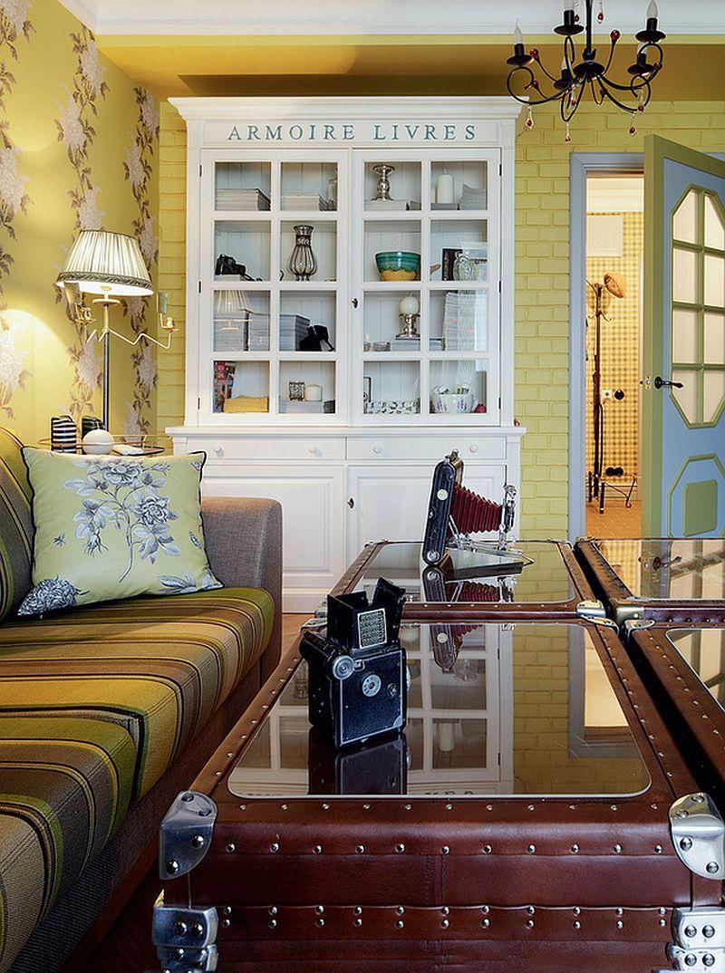 adelaparvu.com despre apartament de bloc 55 mp cu multe draperii, locuinta Moscova, Foto AD (5)