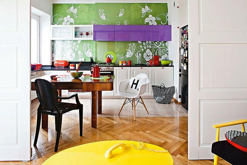 adelaparvu.com despre apartament de doua camere eclectic si tineresc amenajat, design interior Sojka & Wojciechowski (1)