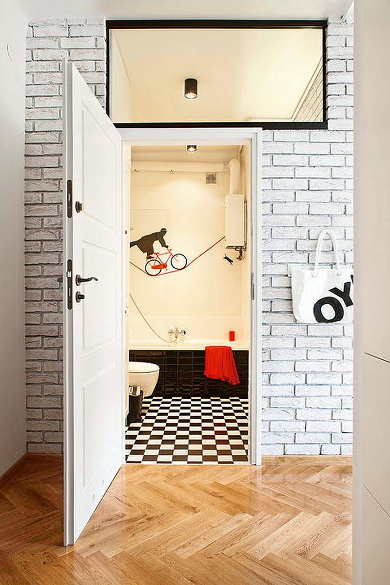 adelaparvu.com despre apartament de doua camere eclectic si tineresc amenajat, design interior Sojka & Wojciechowski (3)