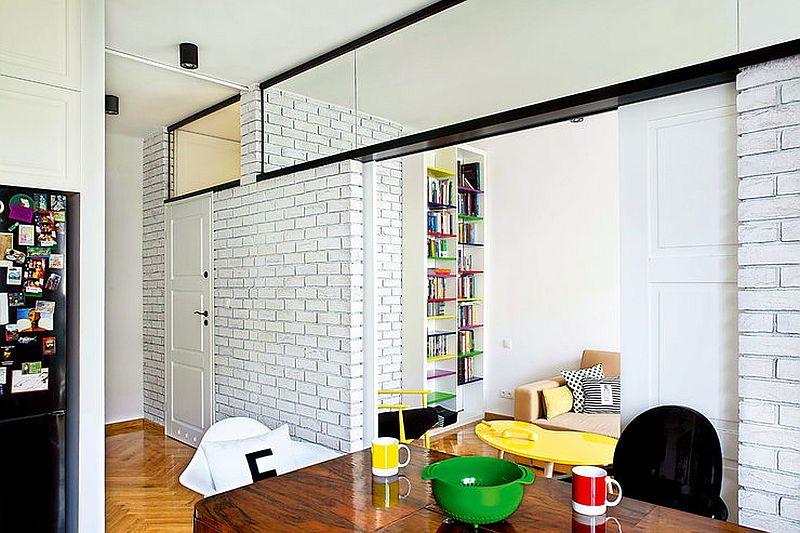adelaparvu.com despre apartament de doua camere eclectic si tineresc amenajat, design interior Sojka & Wojciechowski (4)