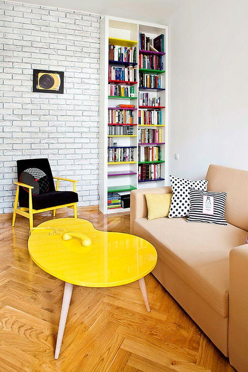 adelaparvu.com despre apartament de doua camere eclectic si tineresc amenajat, design interior Sojka & Wojciechowski (6)