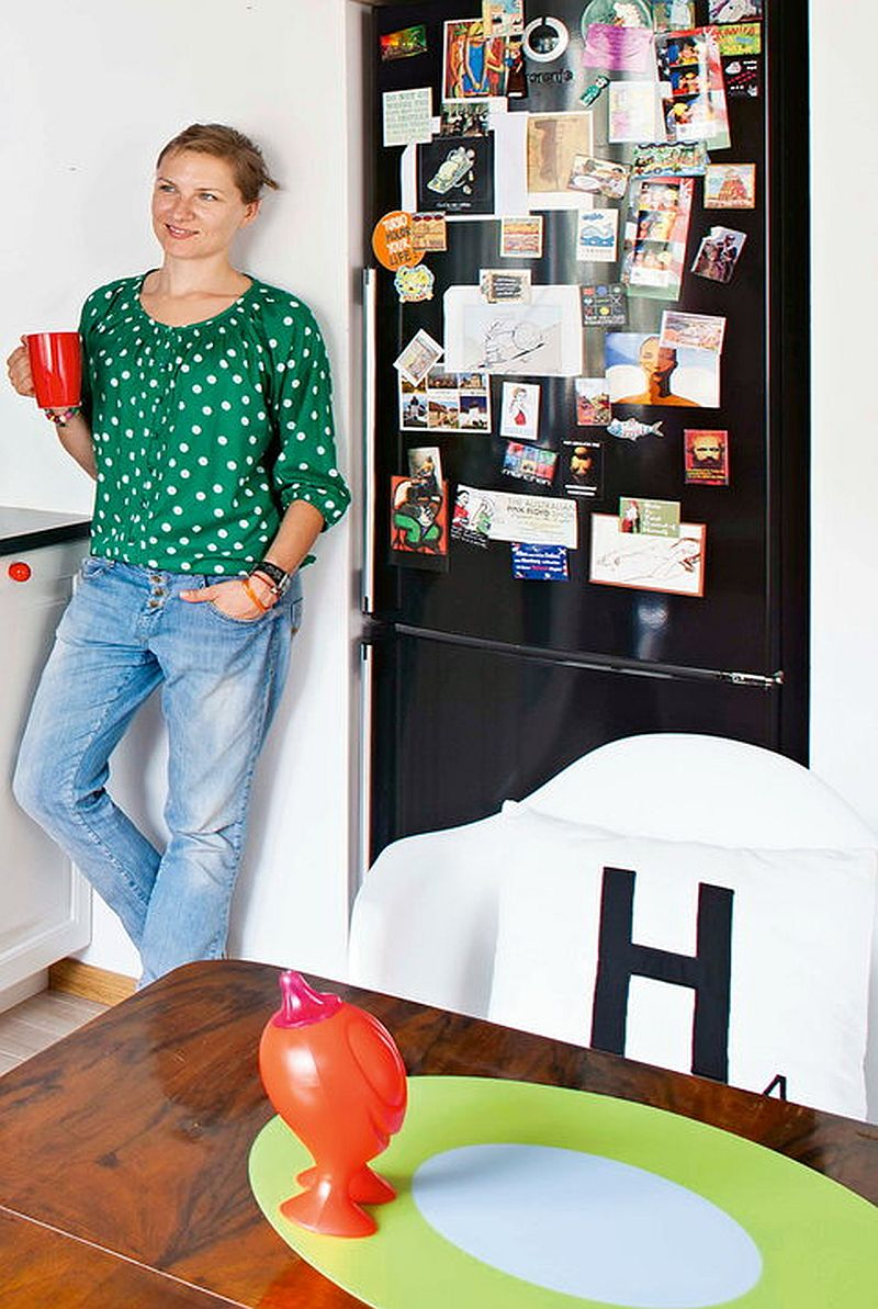 adelaparvu.com despre apartament de doua camere eclectic si tineresc amenajat, design interior Sojka & Wojciechowski (7)