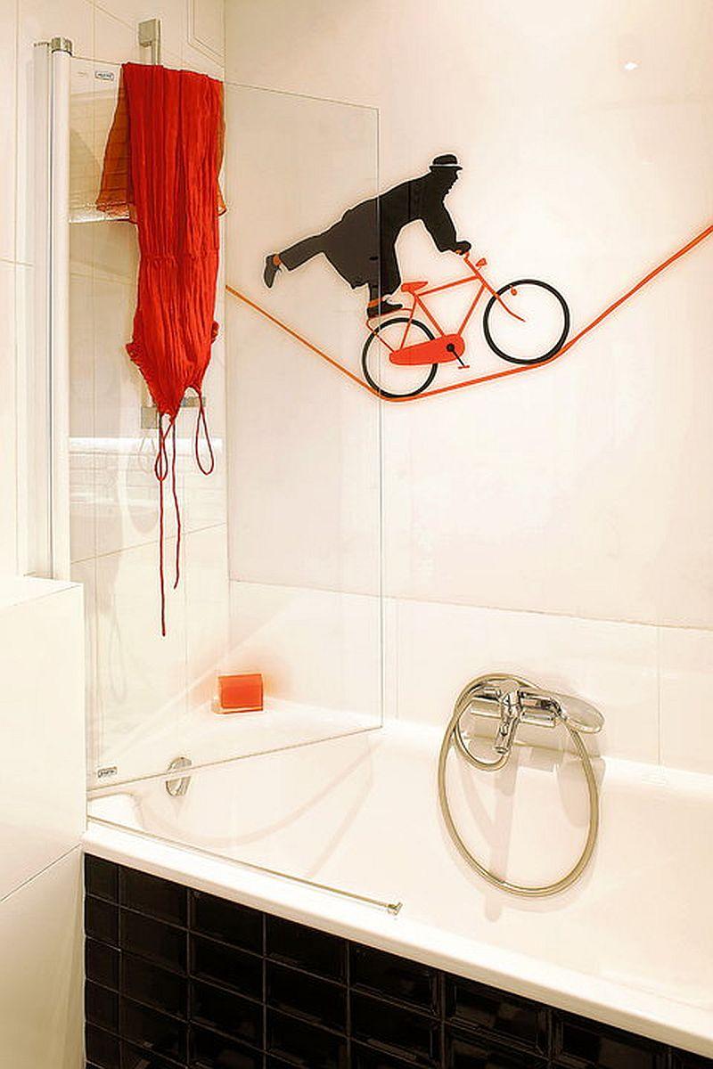 adelaparvu.com despre apartament de doua camere eclectic si tineresc amenajat, design interior Sojka & Wojciechowski (8)