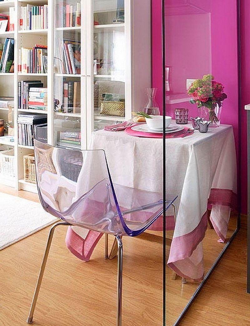 adelaparvu.com despre apartament mic 40 mp cu living separat de dormitor cu usa glisanta (5)