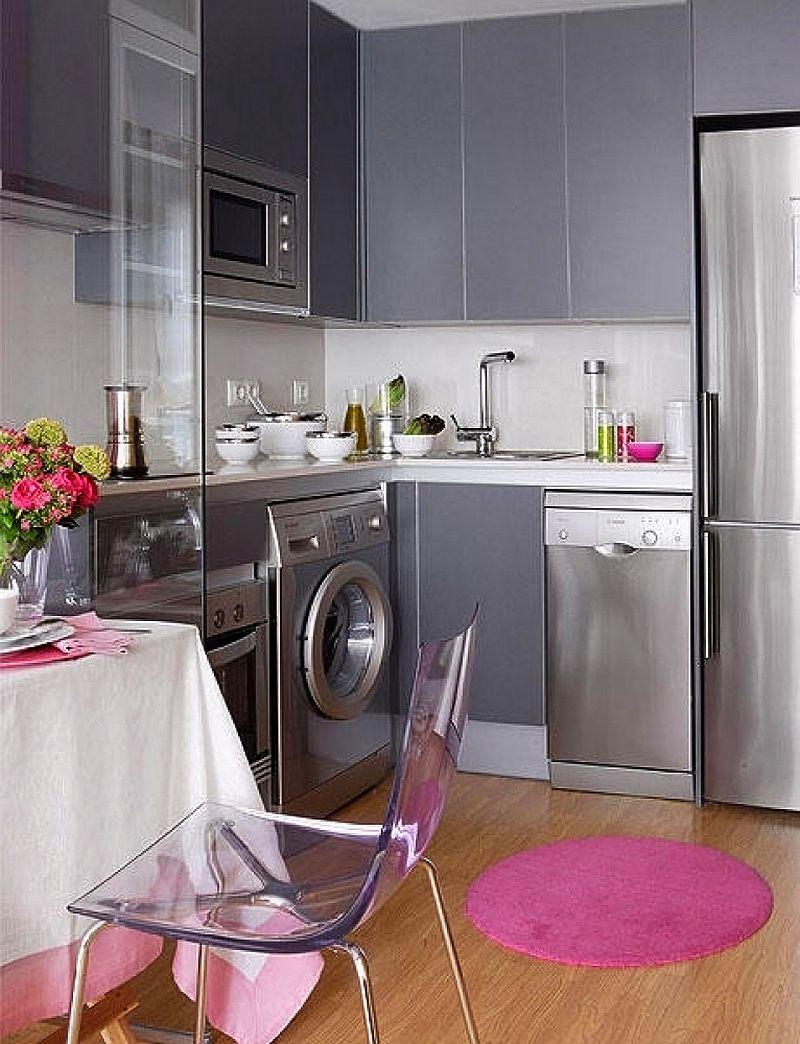 adelaparvu.com despre apartament mic 40 mp cu living separat de dormitor cu usa glisanta (7)
