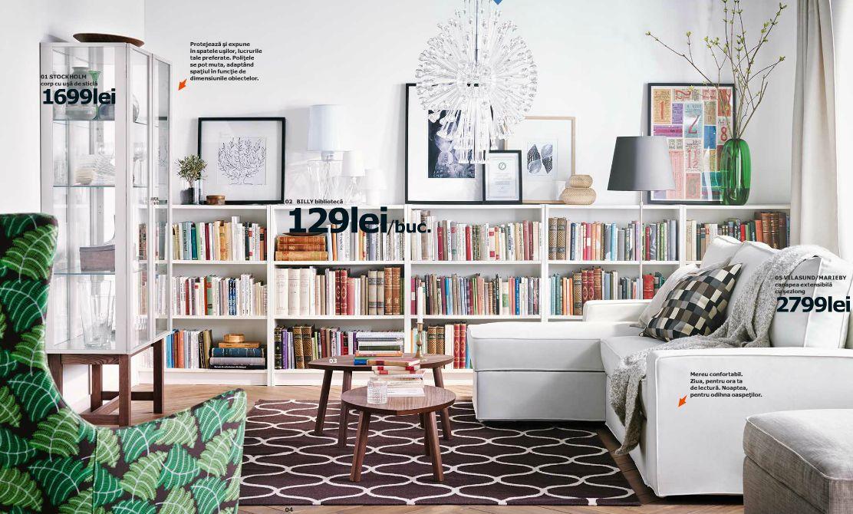 adelaparvu.com despre biblioteca Billy 129 lei, piese ieftine si bune de la IKEA, colectia 2015 (2)