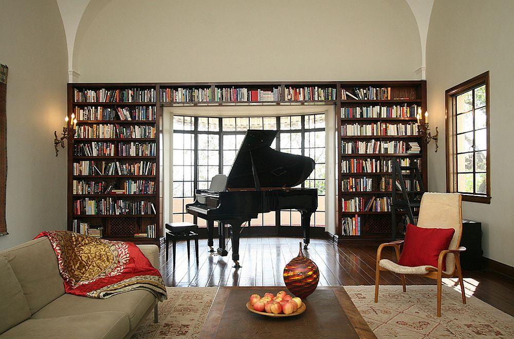 adelaparvu.com despre biblioteci in jurul ferestrelor si usilor, design Design Vidal