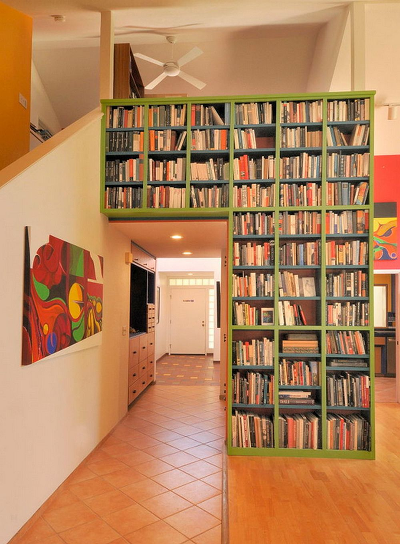 adelaparvu.com despre biblioteci in jurul ferestrelor si usilor, design Morse Remodeling, Inc. and Custom Homes