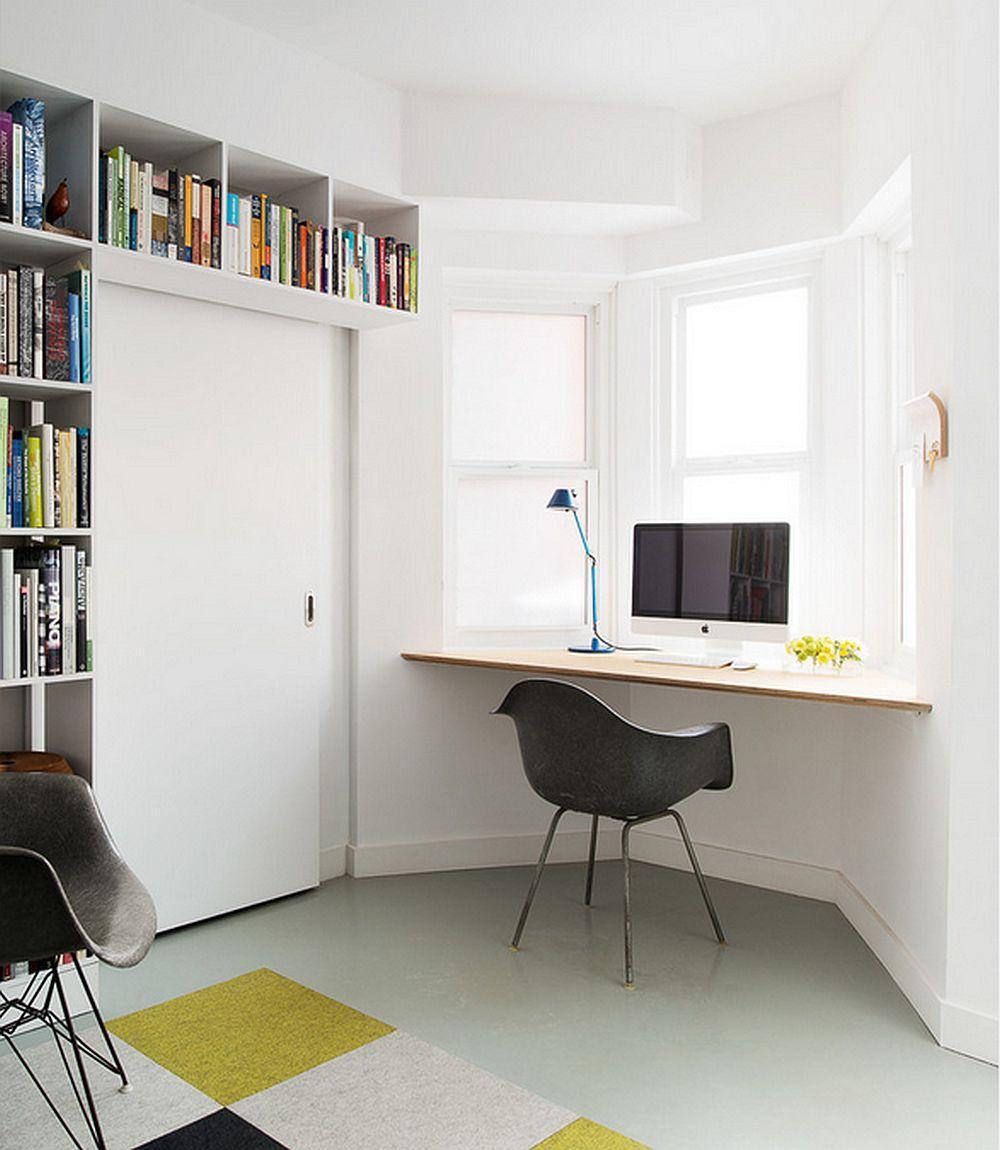 adelaparvu.com despre biblioteci in jurul ferestrelor si usilor, design Pause Architecture