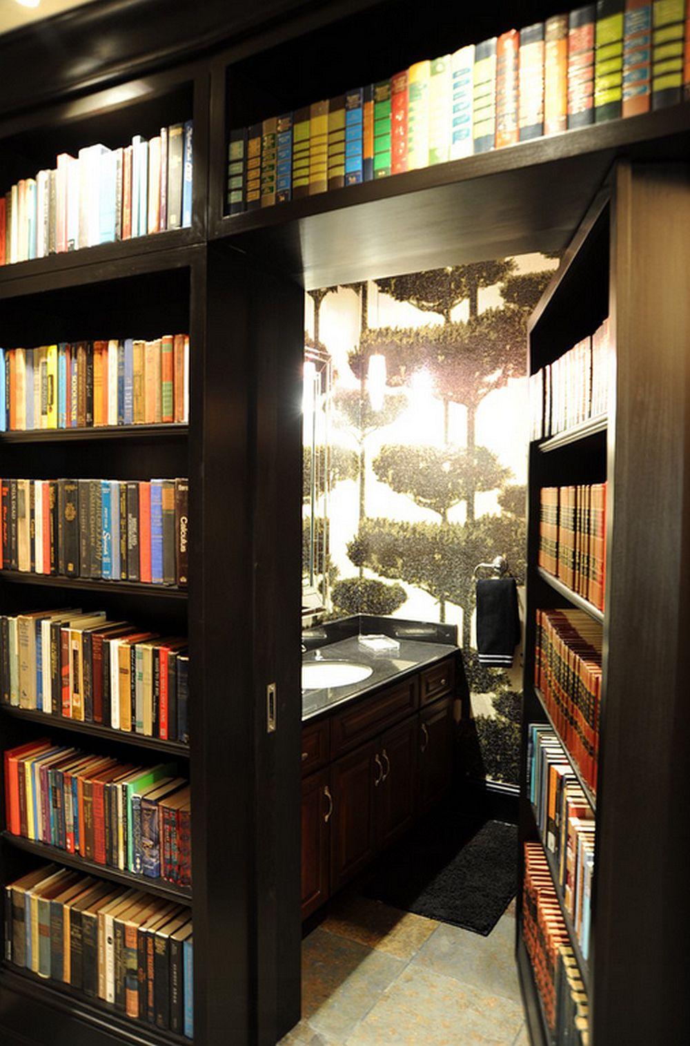 adelaparvu.com despre biblioteci in jurul ferestrelor si usilor, design Savvy Surrounding Style