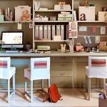 adelaparvu.com despre birouri pentru trei copii, Foto ElMueble