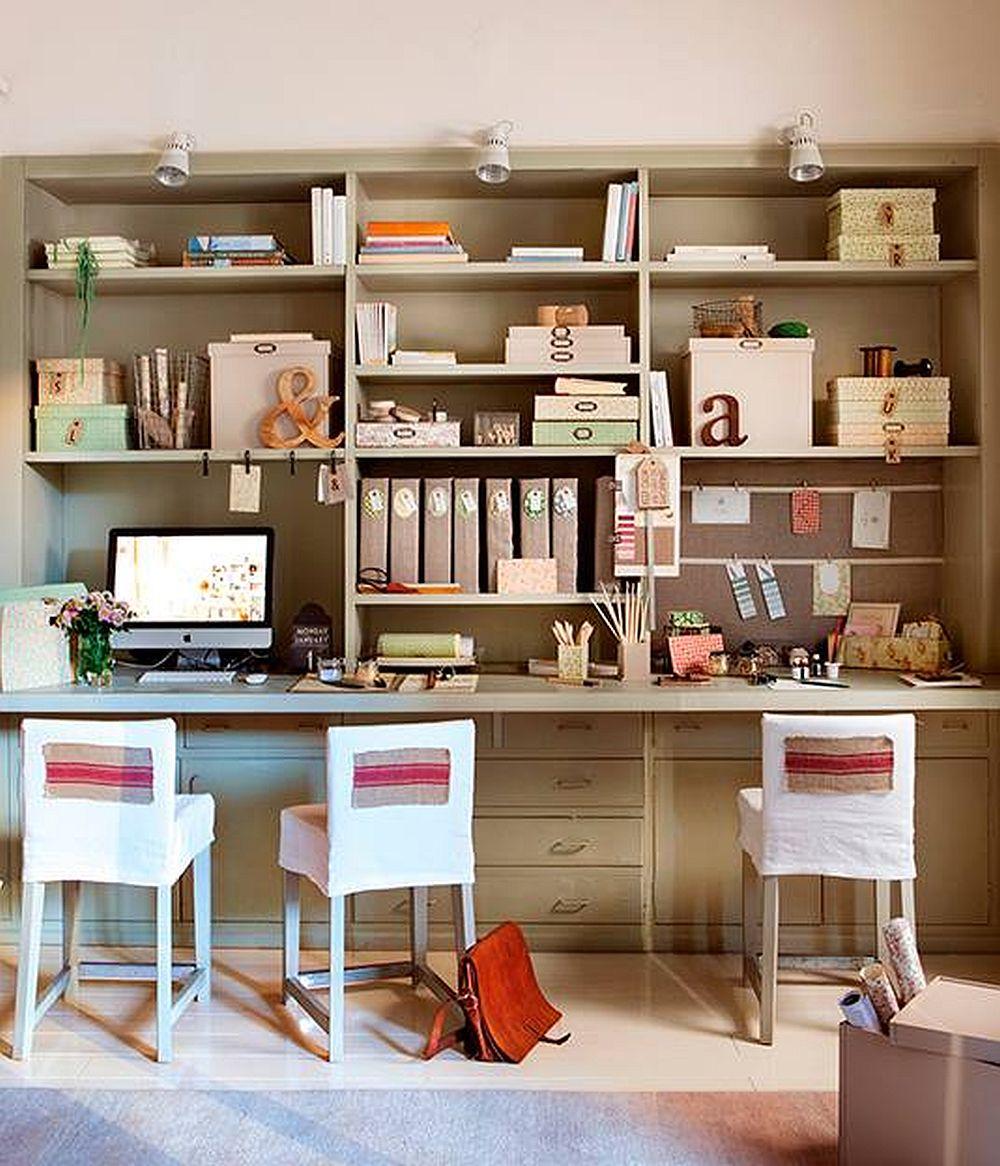 adelaparvu.com despre birouri pentru trei persoane, Foto ElMueble