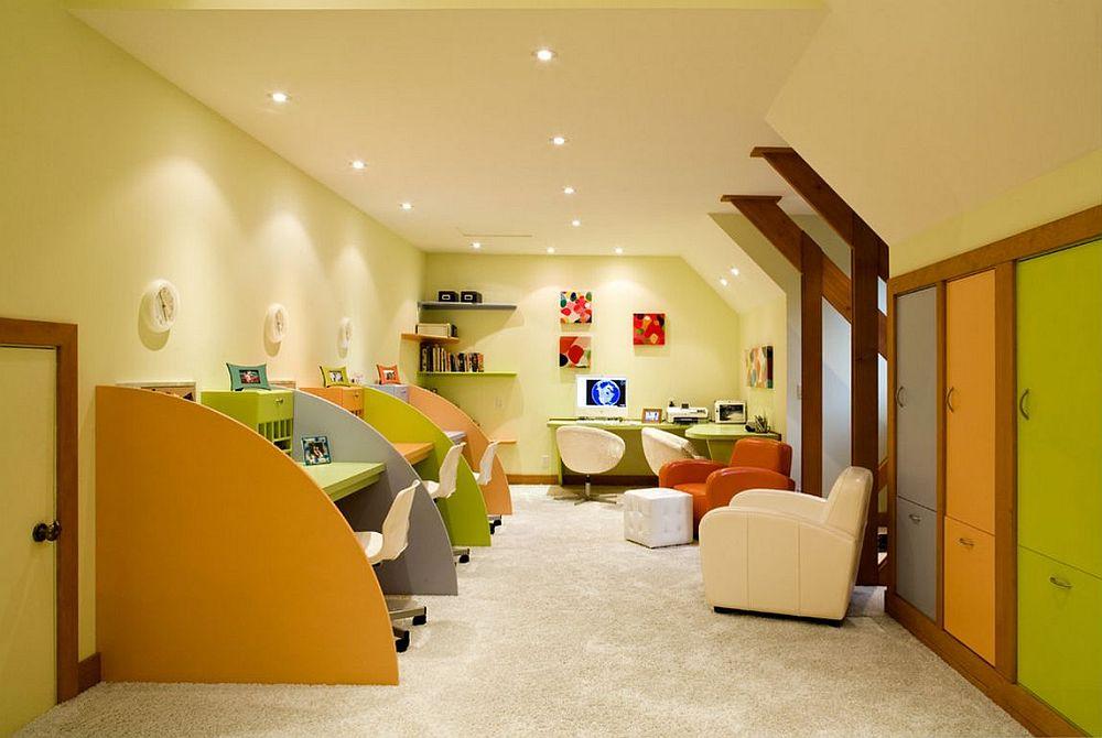 adelaparvu.com despre birouri pentru trei persoane, design Peninsula Construction