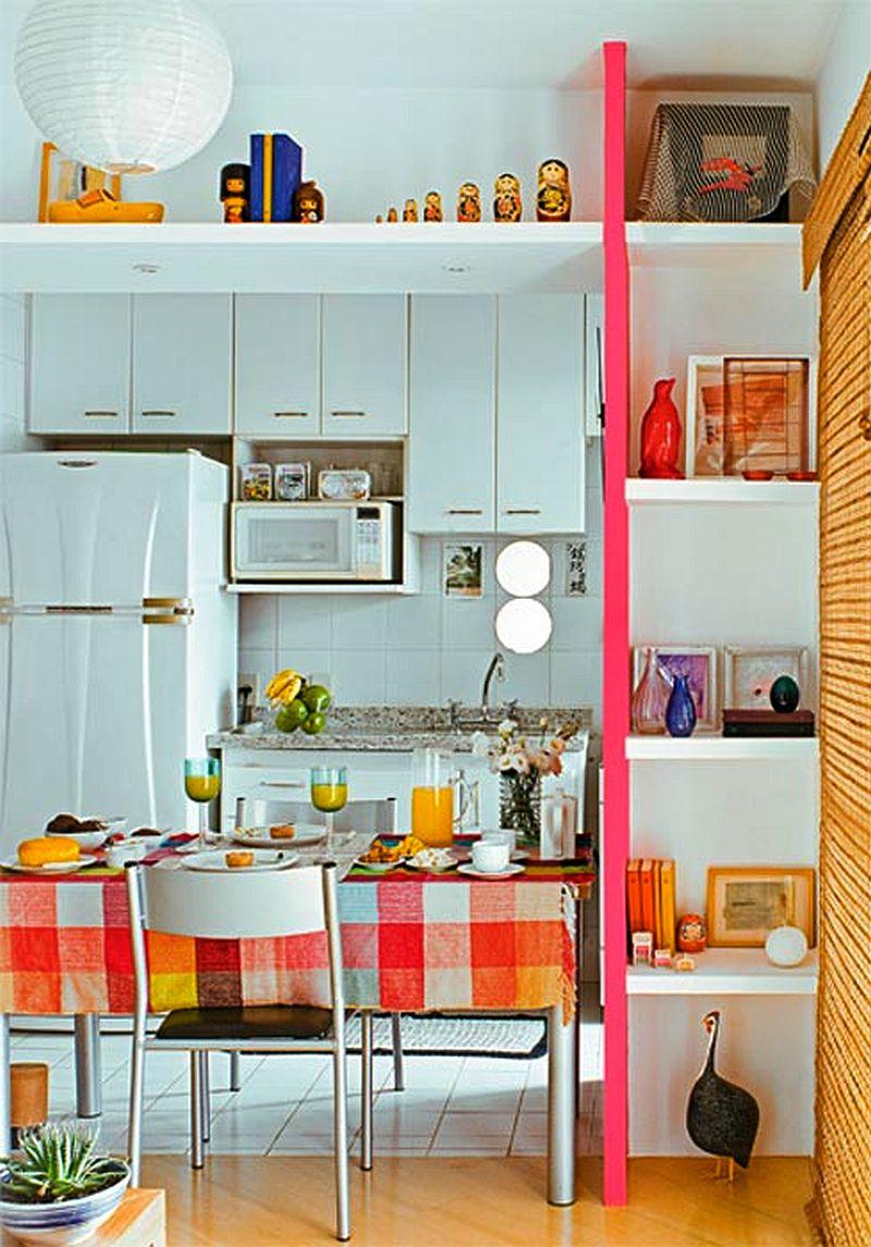 adelaparvu.com despre bucatarii mici, bucatarii colorate (11)