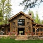 adelaparvu.com despre cabana din lemn vechi recuperat, cabana Swan Valley, Montana, RMT Architects (12)