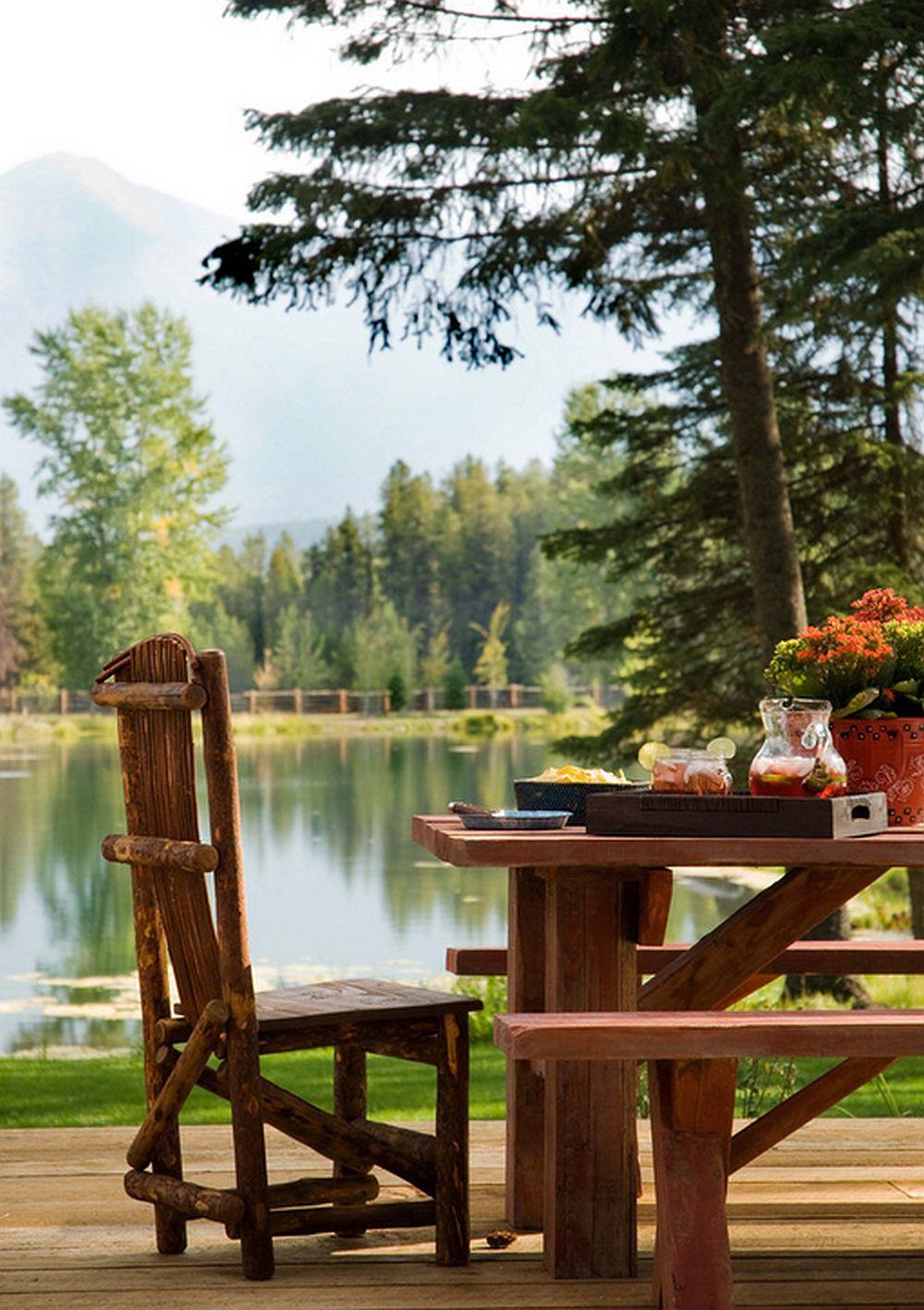 adelaparvu.com despre cabana din lemn vechi recuperat, cabana Swan Valley, Montana, RMT Architects (14)