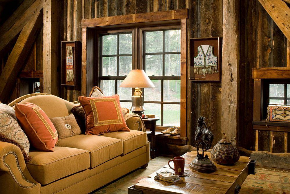 adelaparvu.com despre cabana din lemn vechi recuperat, cabana Swan Valley, Montana, RMT Architects (8)