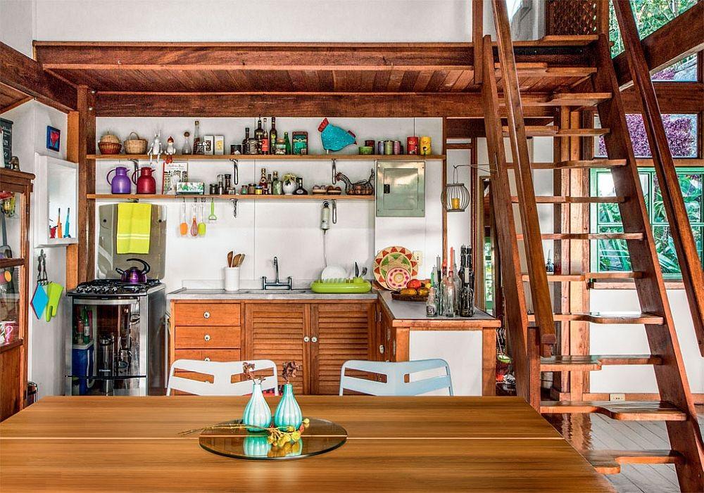 adelaparvu.com despre casa de vacanta cu ferestre turcoaz, casa din prefabricate, arh Sergio Rodiquez (6)