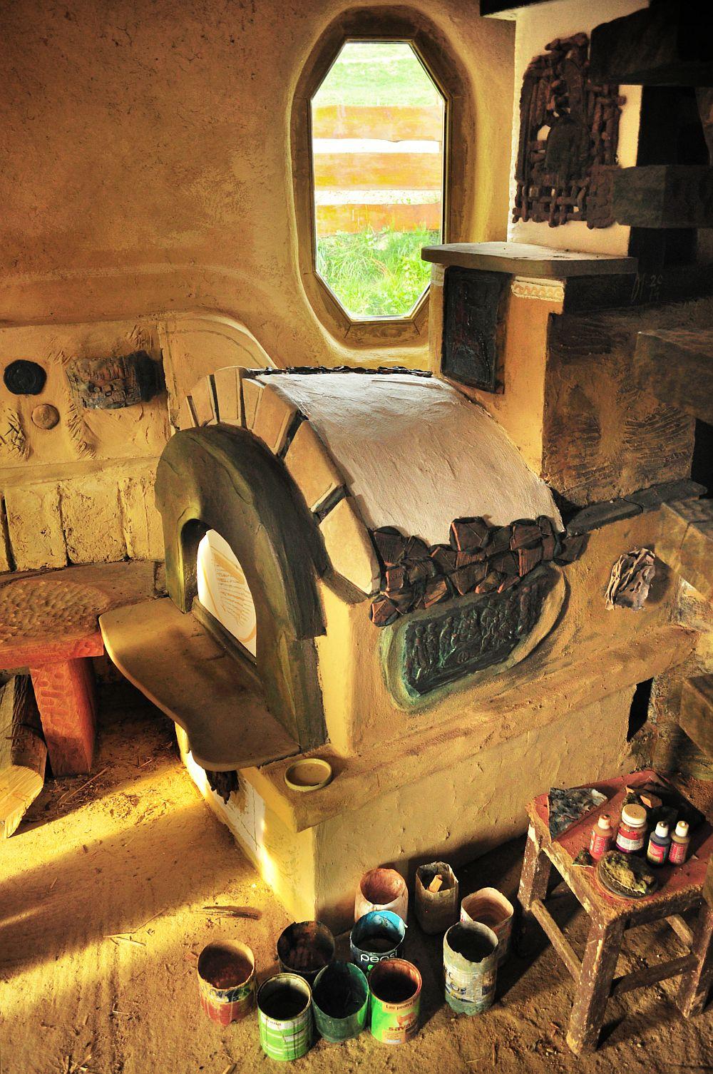 adelaparvu.com despre casa din baloti de paie Popasul Verde, Sangeorz Bai, Romania, proprietar Paul Axinte (35)