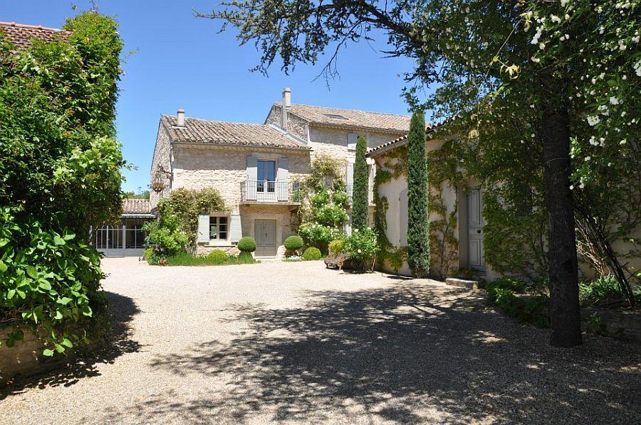 adelaparvu.com despre casa in stil Provence, Maison de Line, Franta (3)