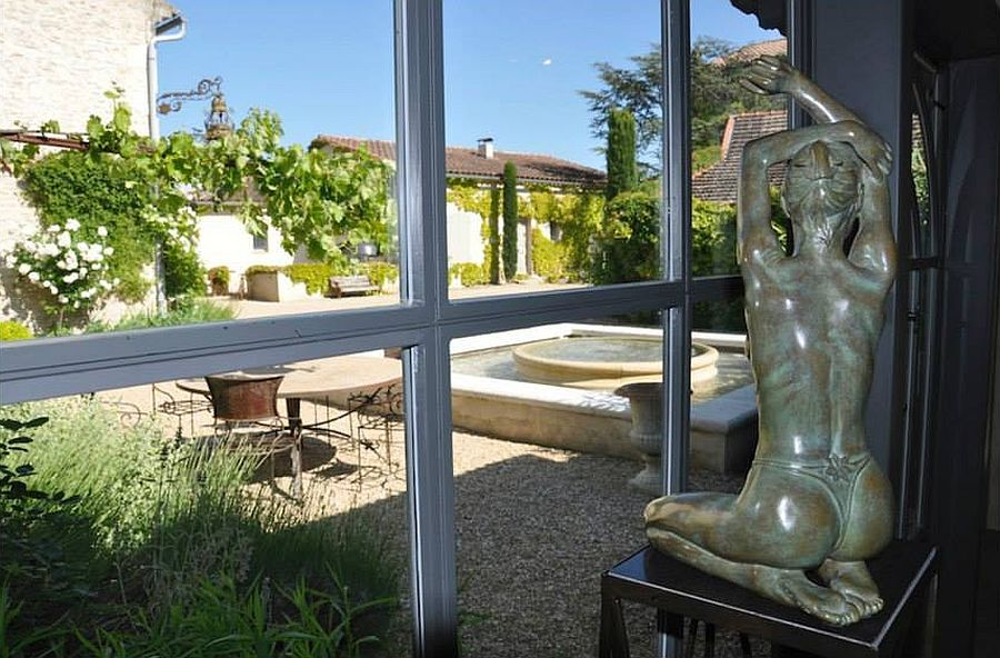 adelaparvu.com despre casa in stil Provence, Maison de Line, Franta (8)