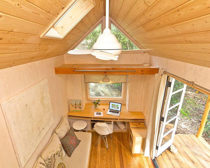 adelaparvu.com despre casa mica de 13 mp, casa pe roti, Sol House, design Vina Lustado (10)