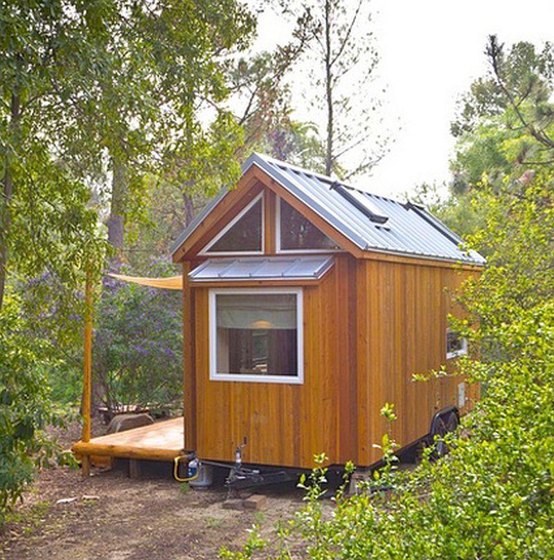 adelaparvu.com despre casa mica de 13 mp, casa pe roti, Sol House, design Vina Lustado (11)