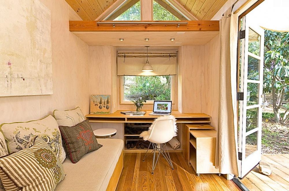 adelaparvu.com despre casa mica de 13 mp, casa pe roti, Sol House, design Vina Lustado (14)