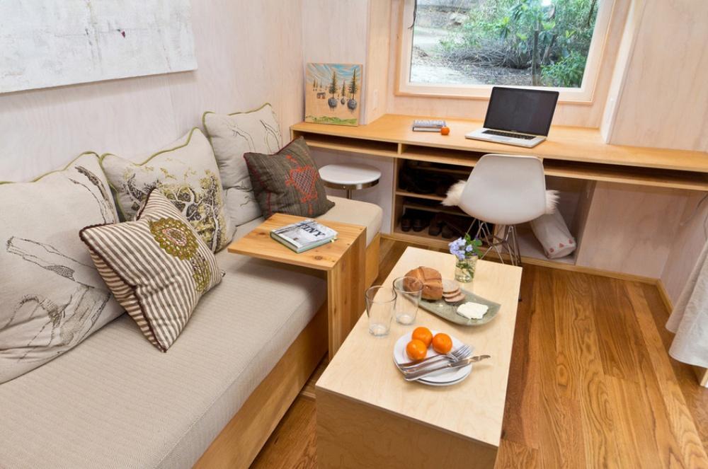 adelaparvu.com despre casa mica de 13 mp, casa pe roti, Sol House, design Vina Lustado (15)