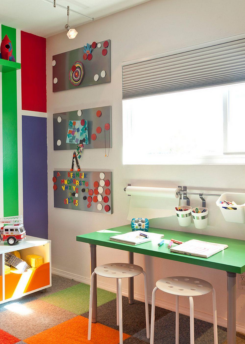 adelaparvu.com despre casa mica de familie colorata, casa San Diego, SUA, design Krysti Kropat (18)