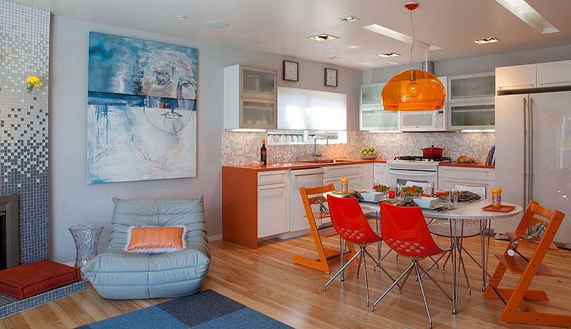 adelaparvu.com despre casa mica de familie colorata, casa San Diego, SUA, design Krysti Kropat (26)