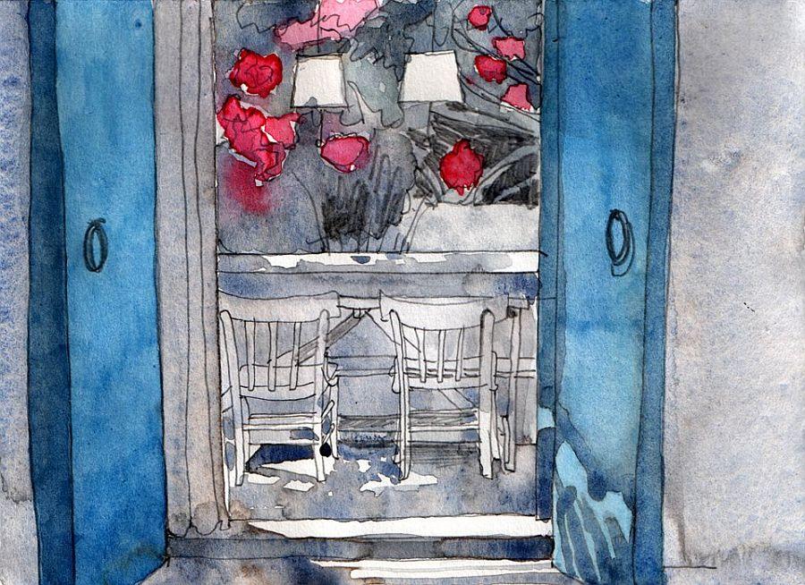 adelaparvu.com despre casa rustica cu tamplarie albastra, casa Spania, Formentera, design Paola Pier si Angelo Pier (2)