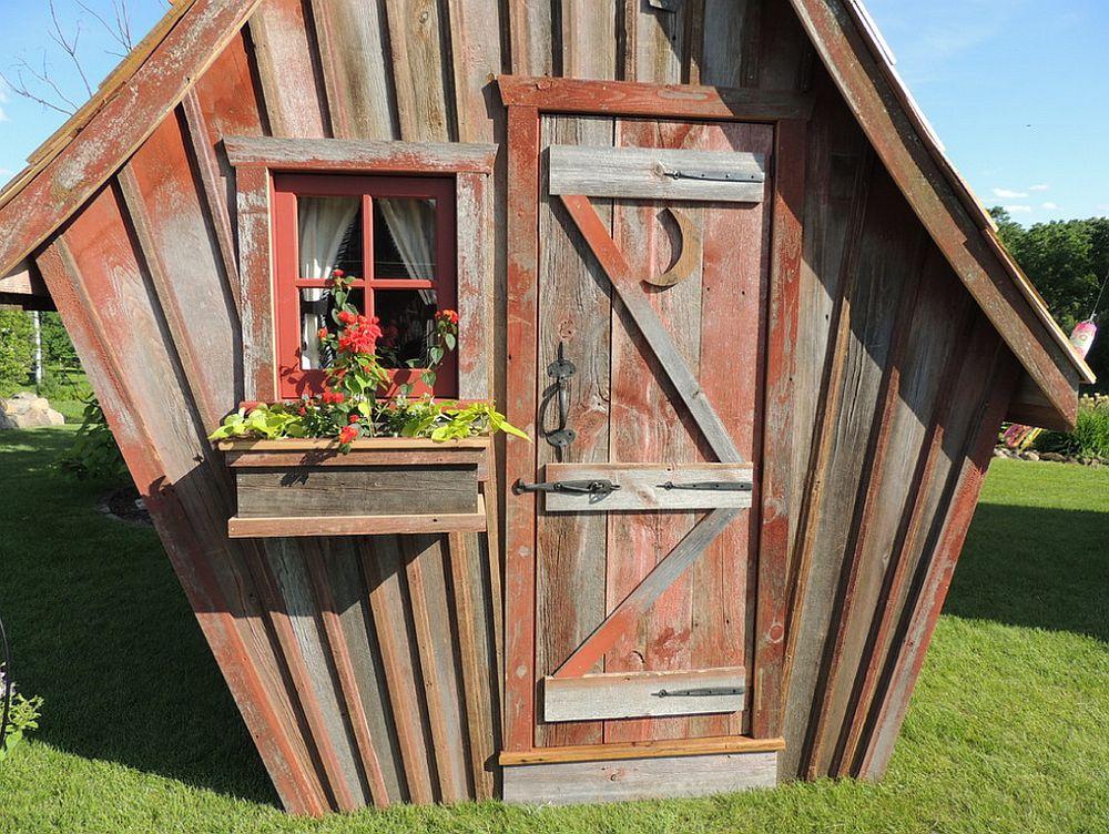 adelaparvu.com despre casute de gradina, case din lemn reciclat, design Dan Pauly, Rusticway (1)