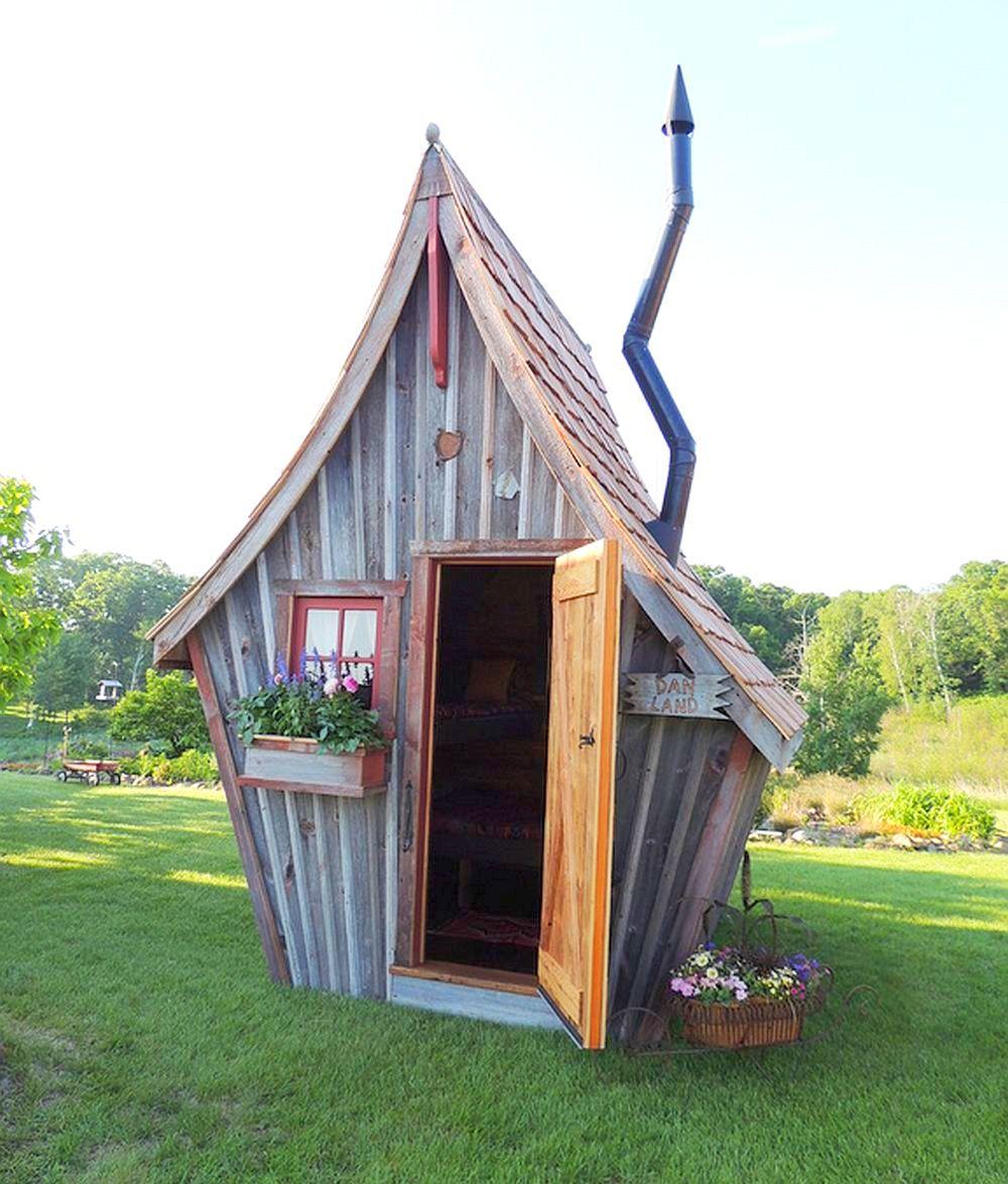 adelaparvu.com despre casute de gradina, case din lemn reciclat, design Dan Pauly, Rusticway (2)