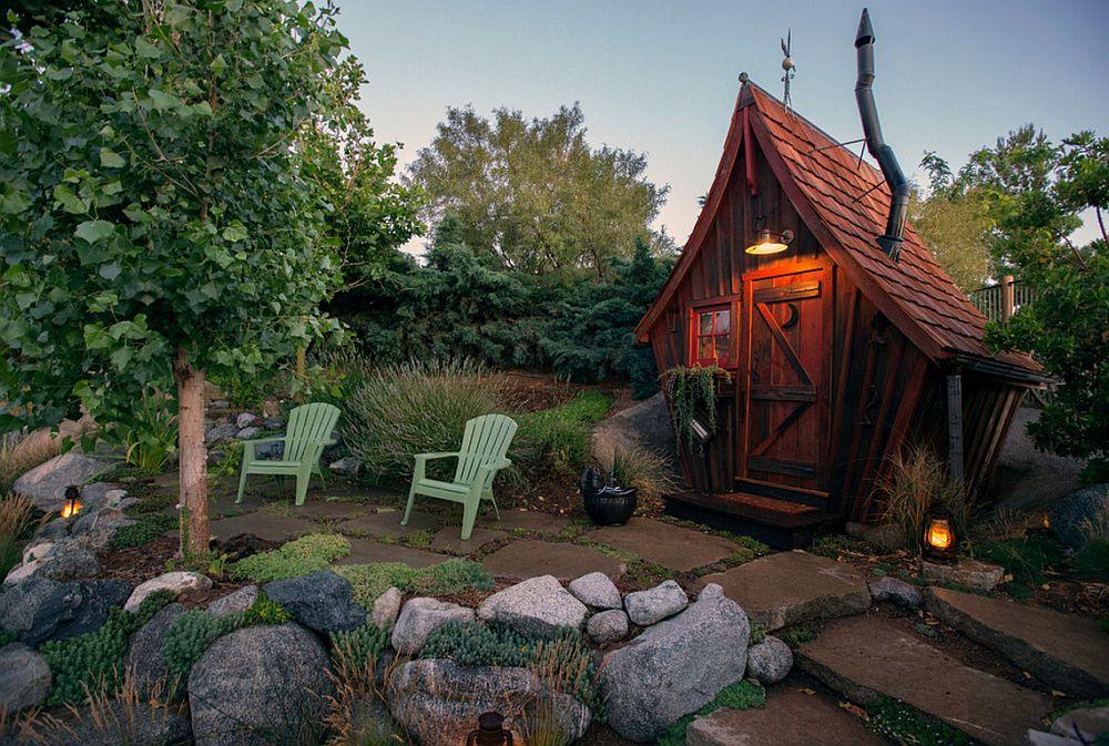 adelaparvu.com despre casute de gradina, case din lemn reciclat, design Dan Pauly, Rusticway (4)