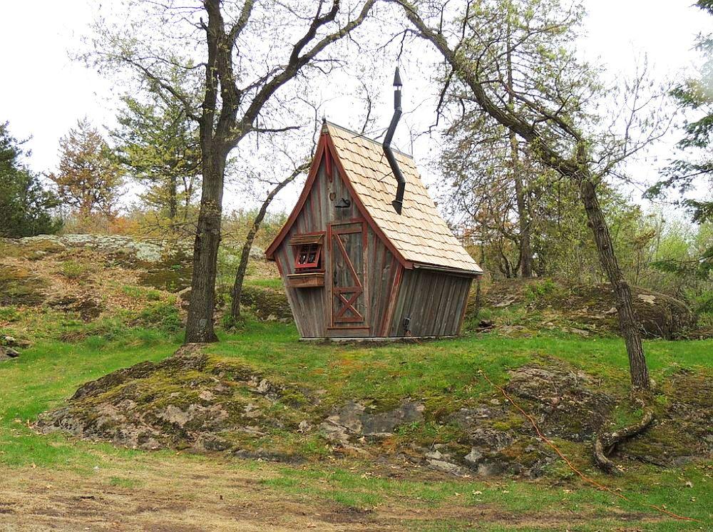 adelaparvu.com despre casute de gradina, case din lemn reciclat, design Dan Pauly, Rusticway (5)