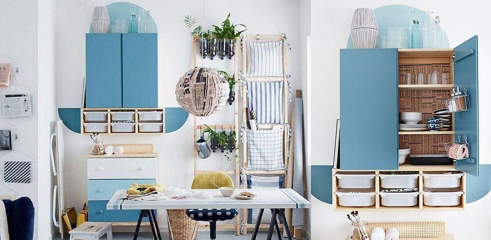 adelaparvu.com despre corp mobila Ivar 265 lei, piese ieftine si bune de la IKEA, colectia 2015