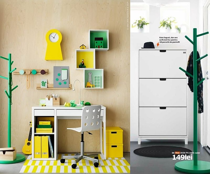 adelaparvu.com despre cuier PS 2041 149 lei, piese ieftine si bune de la IKEA, colectia 2015 (2)