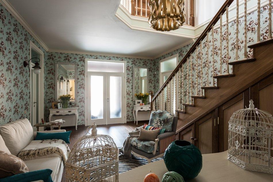 adelaparvu.com despre decor romantic la interiorul unui conac restaurat, vila Rusia, designer Lada Podolsky, DeCity (19)