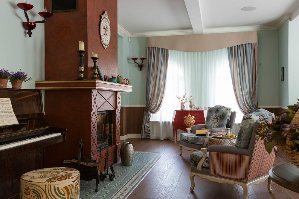 adelaparvu.com despre decor romantic la interiorul unui conac restaurat, vila Rusia, designer Lada Podolsky, DeCity (22)