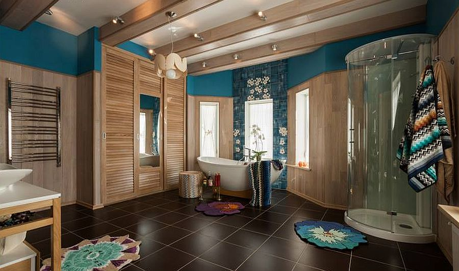 adelaparvu.com despre decor romantic la interiorul unui conac restaurat, vila Rusia, designer Lada Podolsky, DeCity (3)
