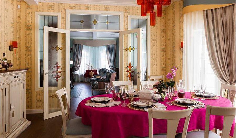 adelaparvu.com despre decor romantic la interiorul unui conac restaurat, vila Rusia, designer Lada Podolsky, DeCity (4)
