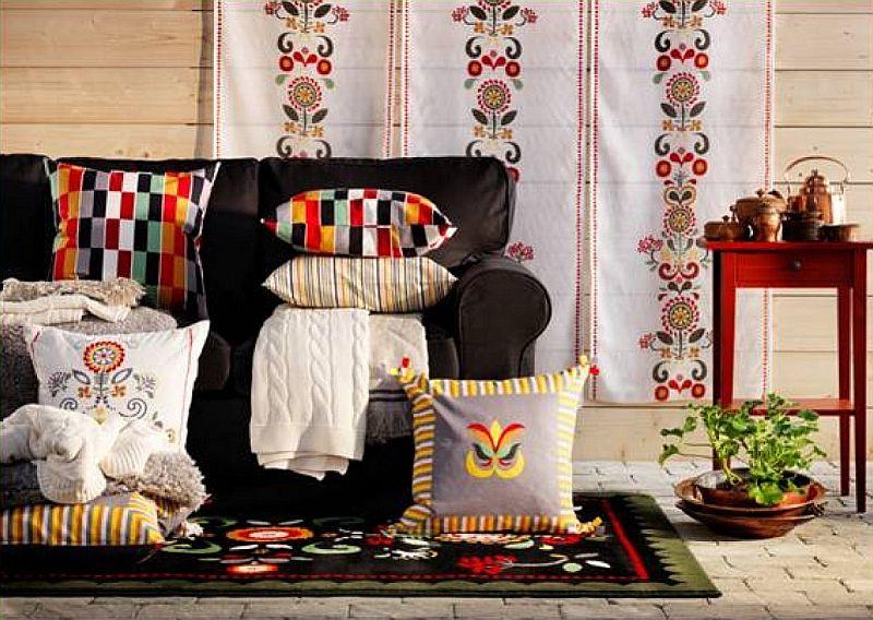 adelaparvu.com despre draperie panou Akerkulla 59,99 lei, piese ieftine si bune de la IKEA, colectia 2015 (1)