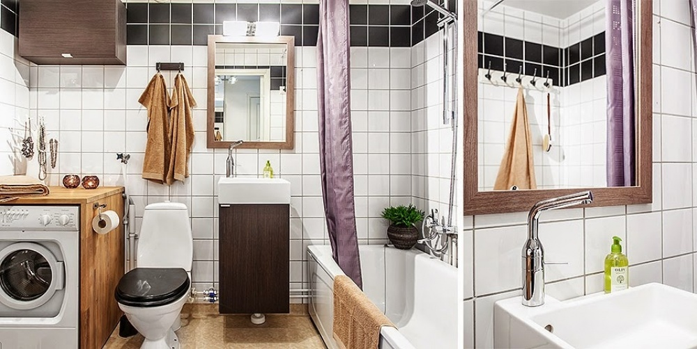 adelaparvu.com despre garsoniera cu canapea si pat in aceeasi camera, Foto Lundin (10)