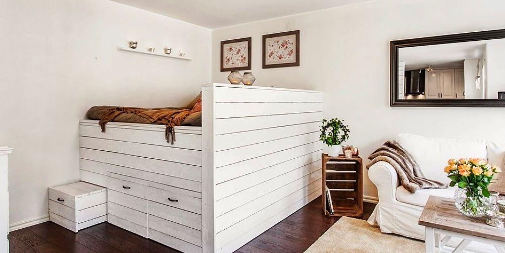 adelaparvu.com despre garsoniera cu canapea si pat in aceeasi camera, Foto Lundin (11)