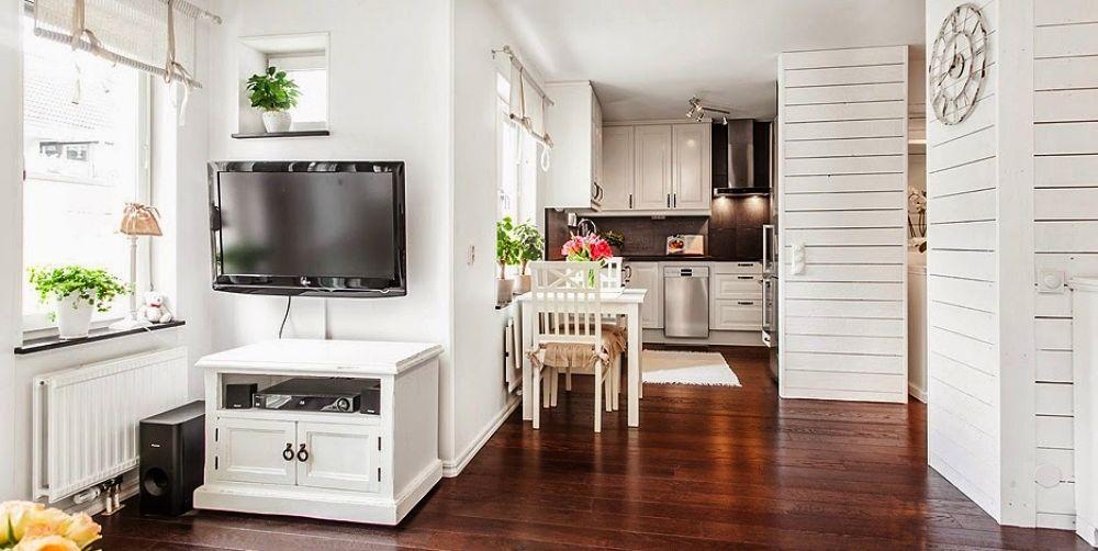 adelaparvu.com despre garsoniera cu canapea si pat in aceeasi camera, Foto Lundin (6)