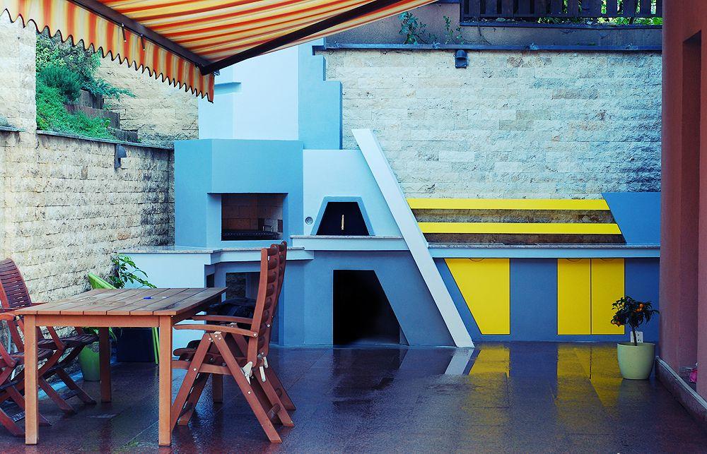 adelaparvu.com despre gratar si bucatarie de vara moderne construite la Cluj, design eGratare (4)