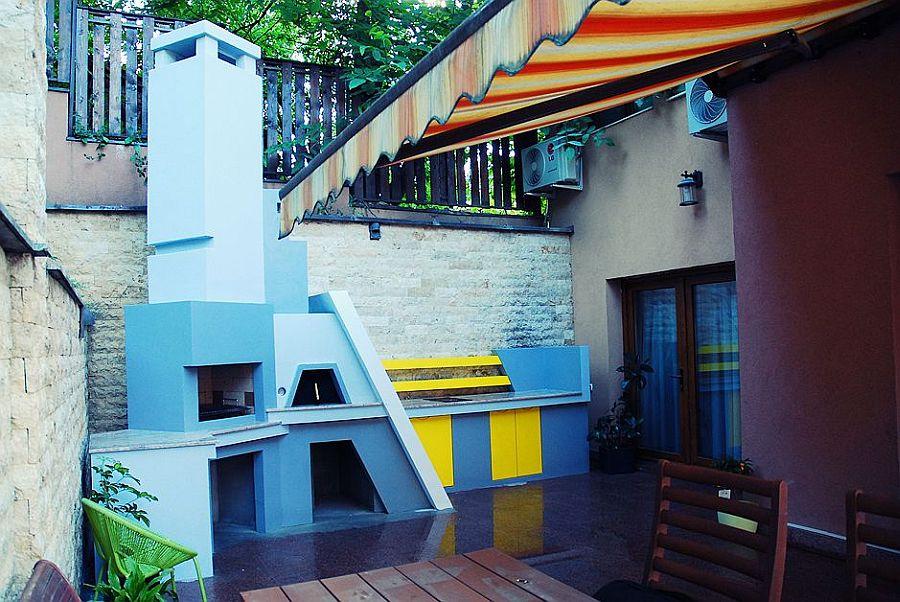 adelaparvu.com despre gratar si bucatarie de vara moderne construite la Cluj, design eGratare (5)