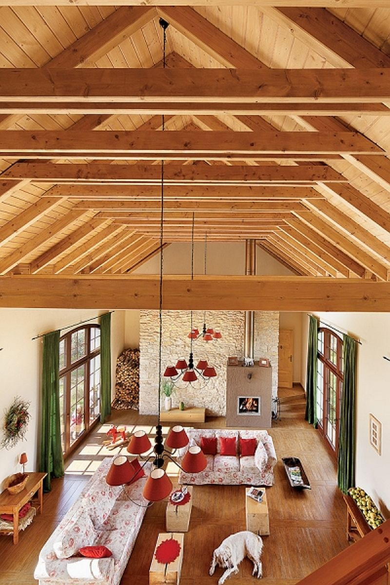 adelaparvu.com despre hambar transformat in casa, casa la tara Polonia, Foto Weranda Country (9)